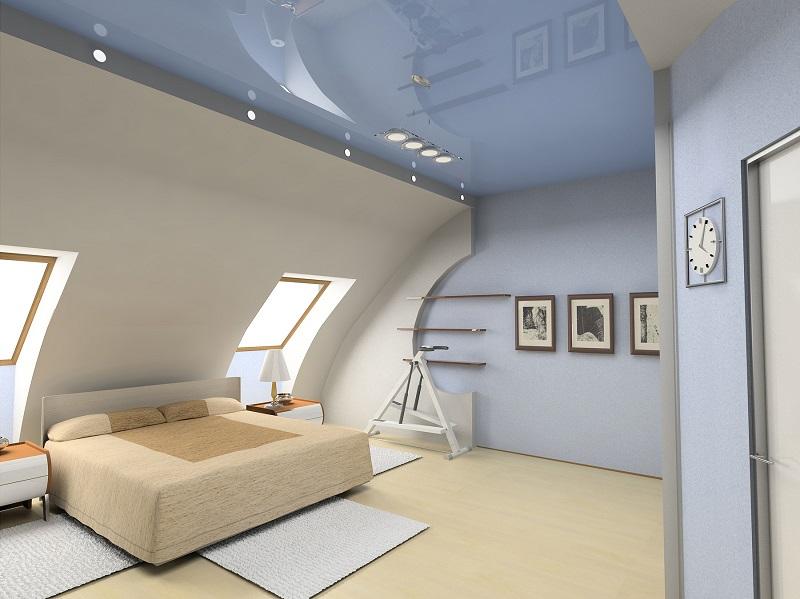 частных как визуально увеличить высоту потолка на мансарде интернет-магазине можно выбрать